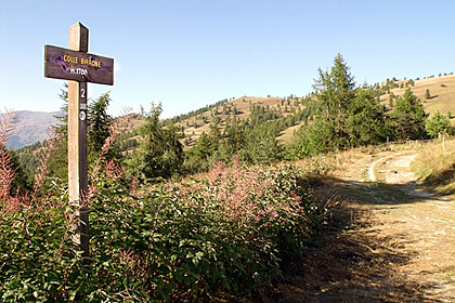 Colle Birrone, Valle Maira